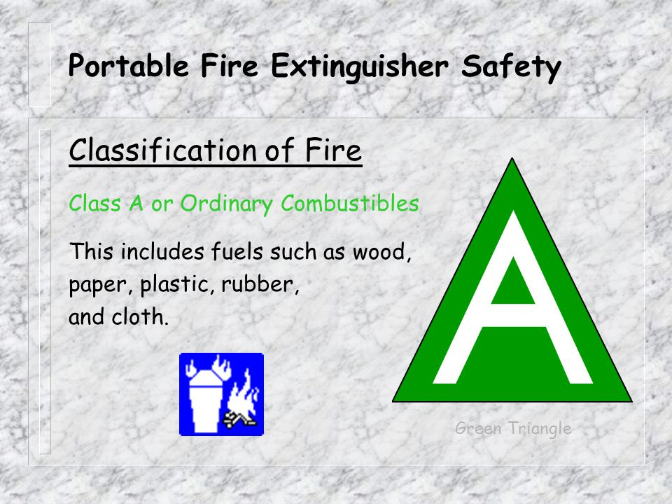 Portable Fire Extinguisher Safety Thank You For Your Time! Any Questions?