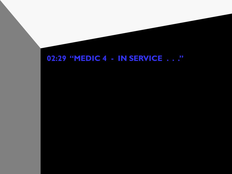 "02:26 ""MEDIC 4 - AT DESTINATION"" All signatures are collected electronically. The report is spell checked, then reviewed in a call summary screen with"