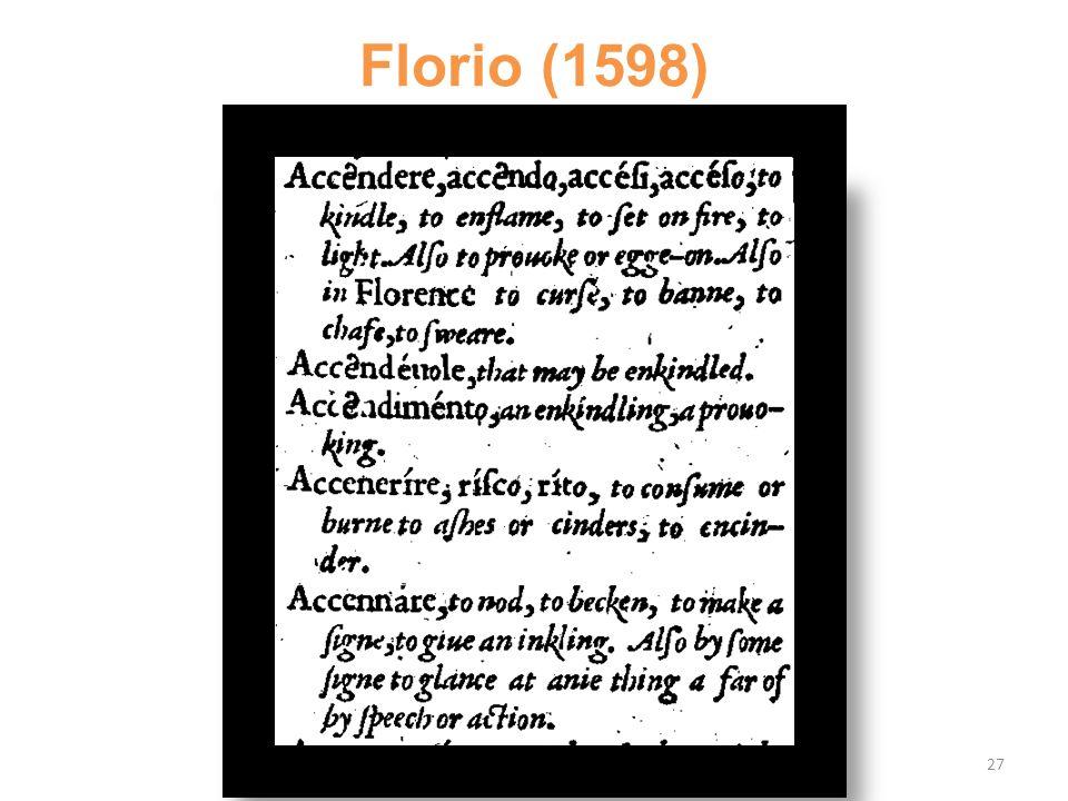 Florio (1598) 27
