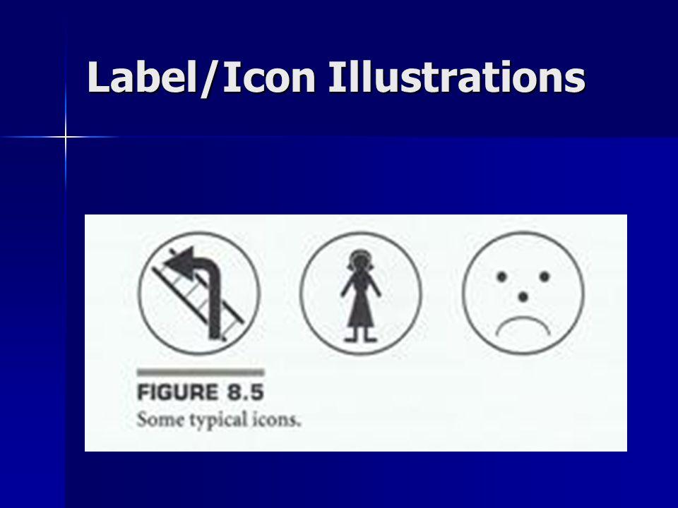 Label/Icon Illustrations