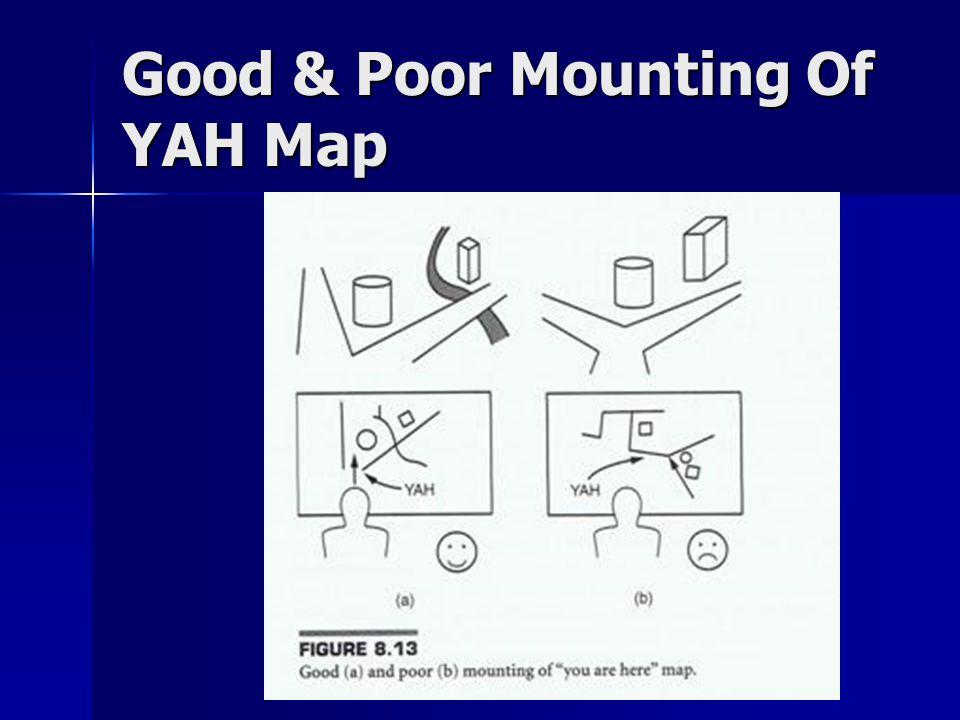 Good & Poor Mounting Of YAH Map