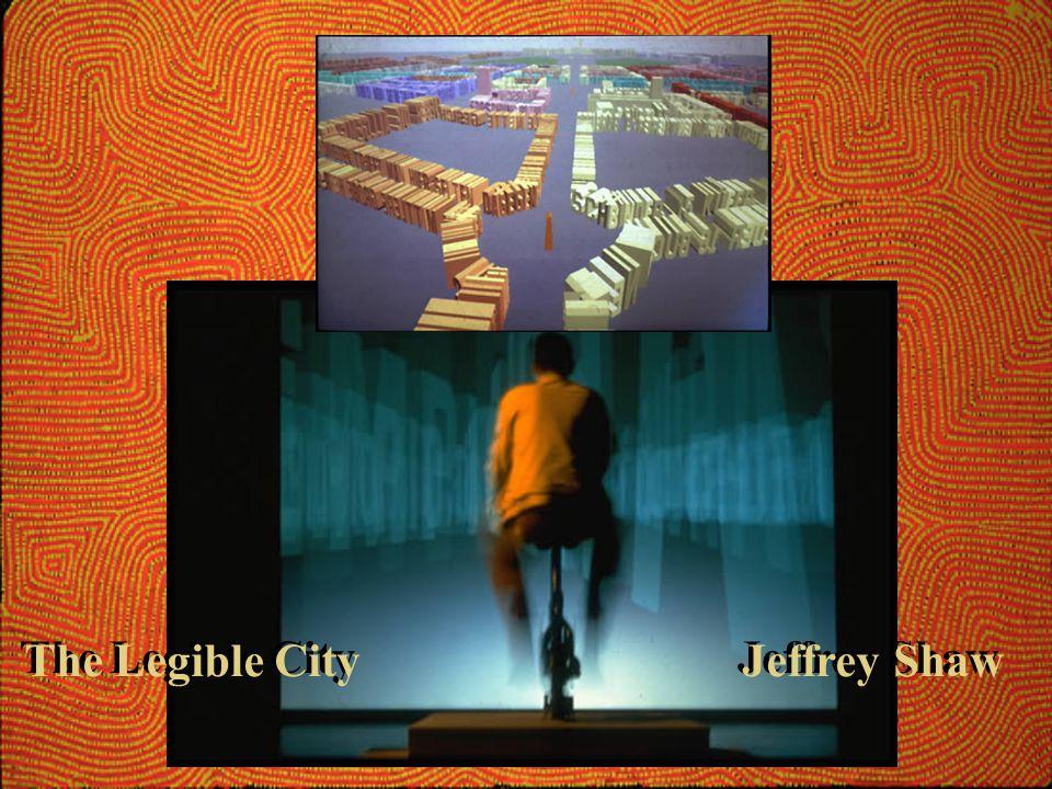 The Legible City Jeffrey Shaw