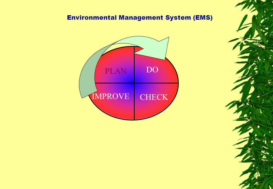 Environmental Management System (EMS) PLAN DO CHECK IMPROVE