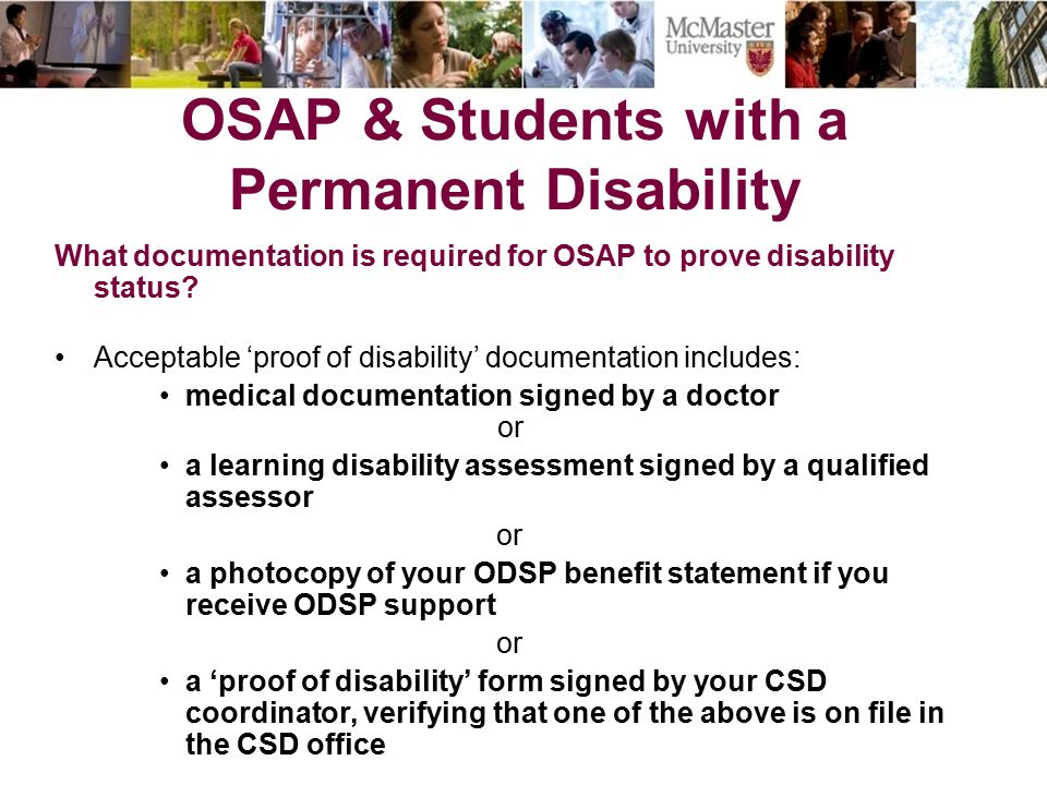 OSAP How much might students expect to receive.