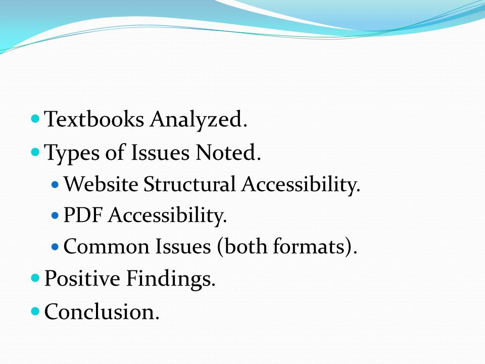 (cont.) Content-related Vocabulary: Inconsistent emphasis (9% web, 28% PDF).