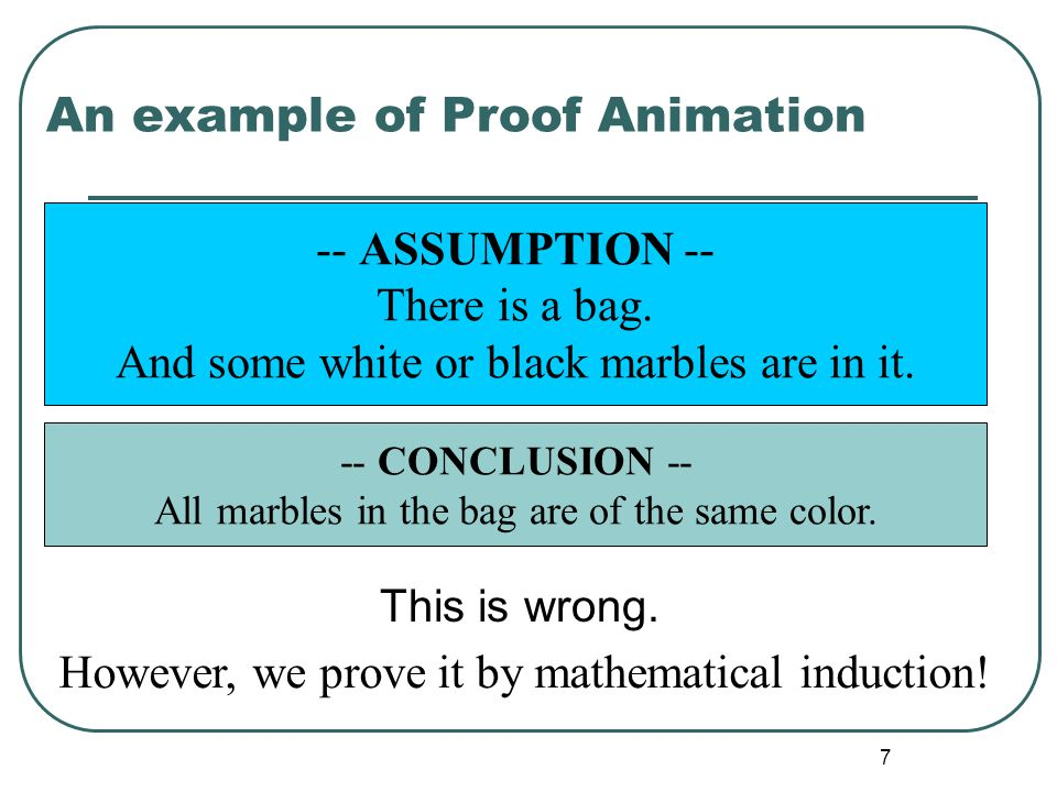 "6 Proof Animation A technique of ""Proof Engineering"". Proof Engineering is my terminology for the engineering to build formal proofs, e.g., the resear"