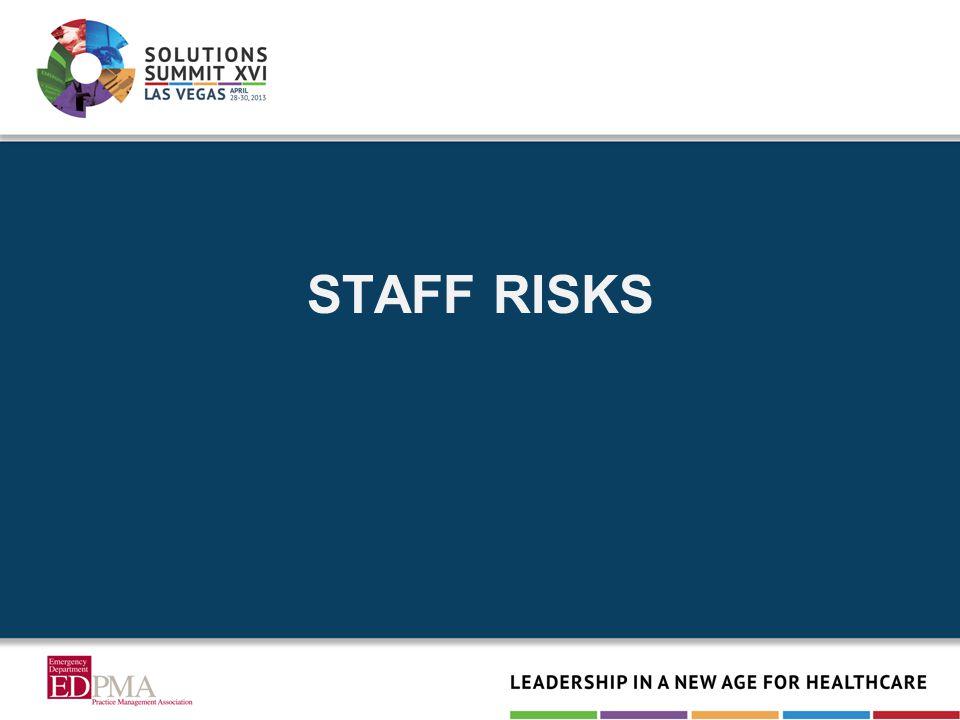 STAFF RISKS