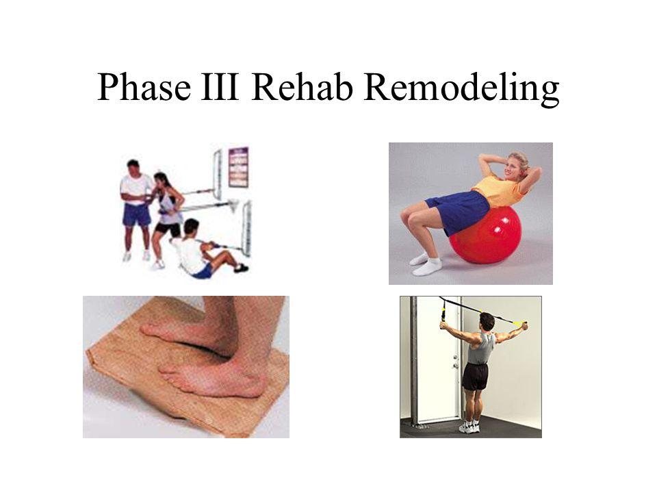 Phase III Rehab Remodeling