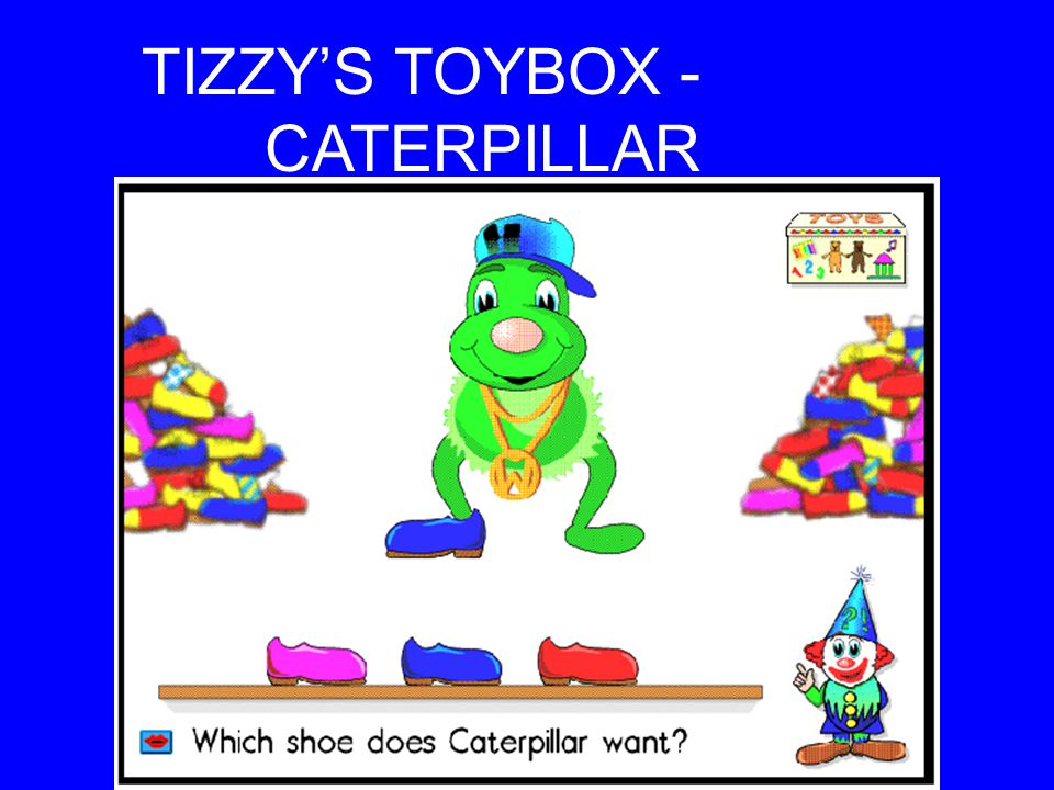 TIZZY'S TOYBOX - RHYMING WORDS