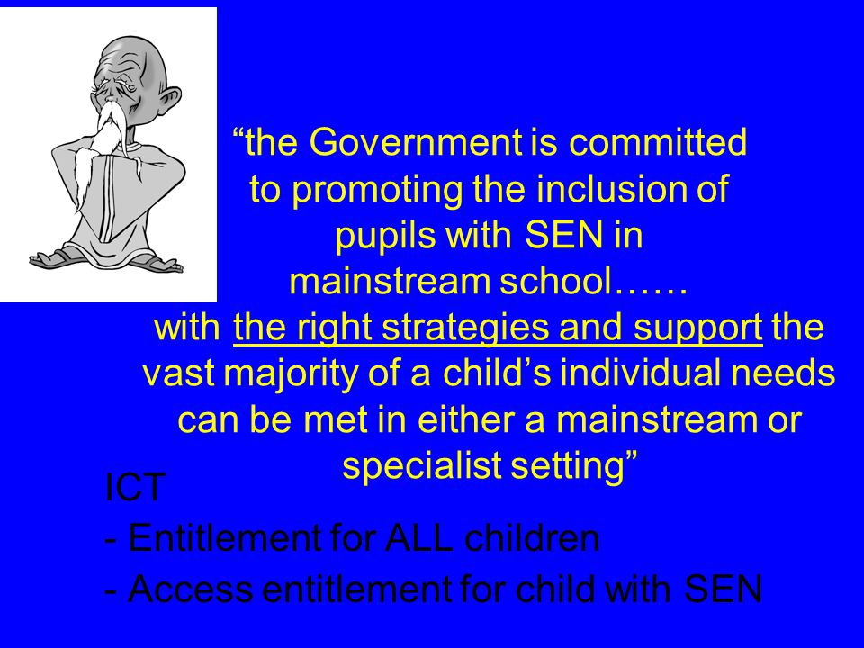 ICT supports teaching and learning across the curriculum for all pupils. Good practice in ICT will support all learners, encourage independence and in