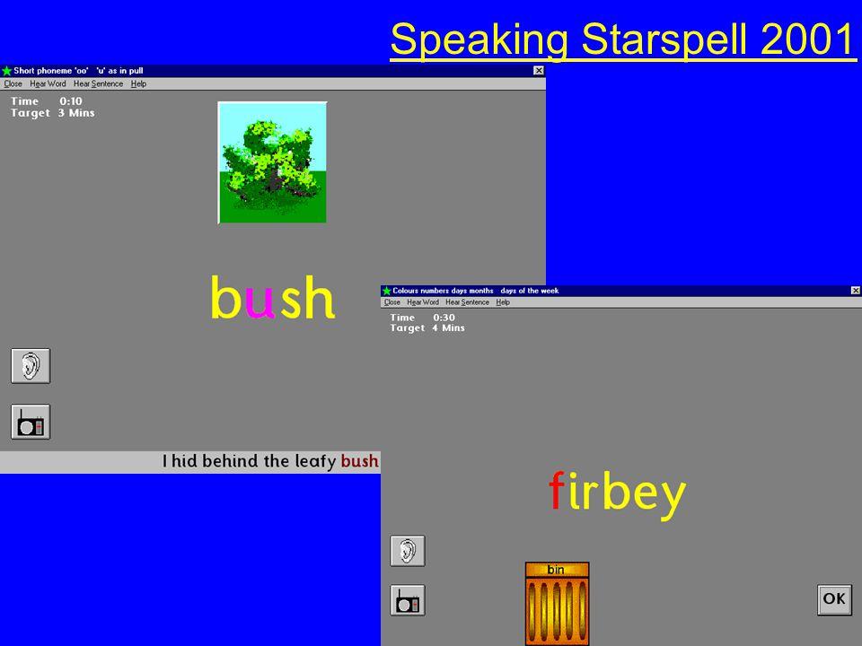 Starspell 2001 (Fisher Marriott) (Fisher Marriott)WordShark (White Space) (White Space)