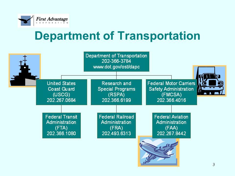3 Department of Transportation