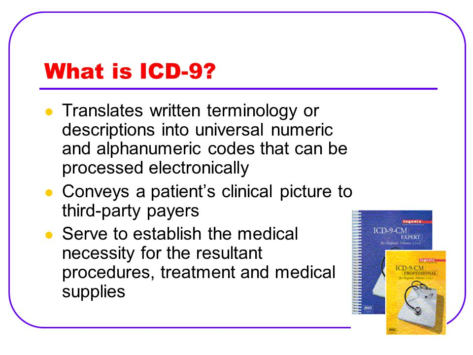 What is ICD-9.