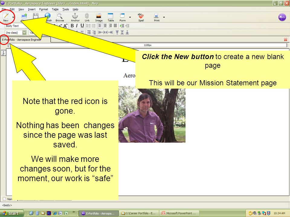 Note the little red disk- looking icon on the tab for this page.