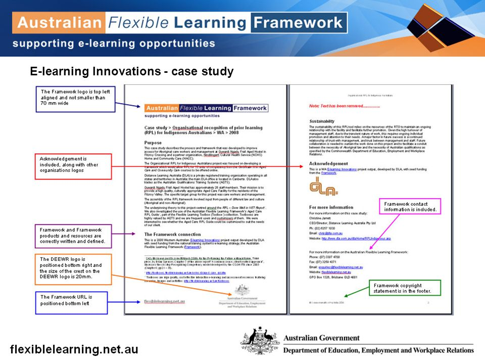 E-learning Innovations - case study