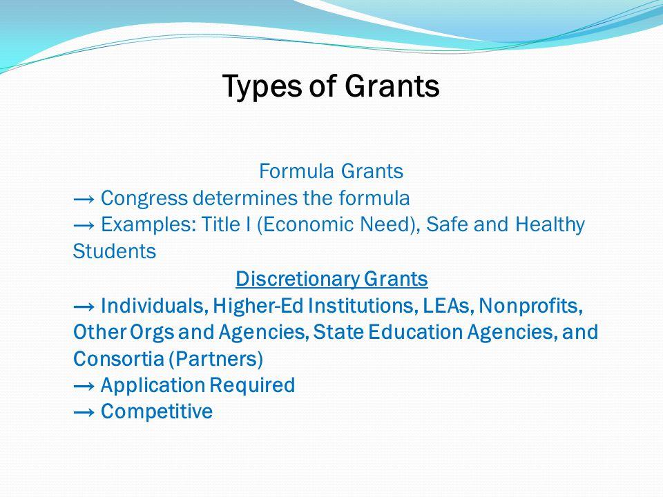 Joe.Barison@ed.gov (415) 486-5700 U.S. DEPT OF EDUCATION GRANTS May 2014