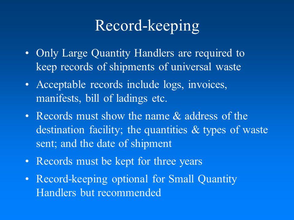 Online Resources Inspection Checklists http://www.nj.gov/dep/enforcement/hw-chklists.html Inspection Reports http://www.nj.gov/dep/opra/online.html Fact Sheets http://www.state.nj.us/dep/dshw/lrm/uwaste/uwindex.htm Rules & Regulations http://www.nj.gov/dep/dshw/resource/rules.htm