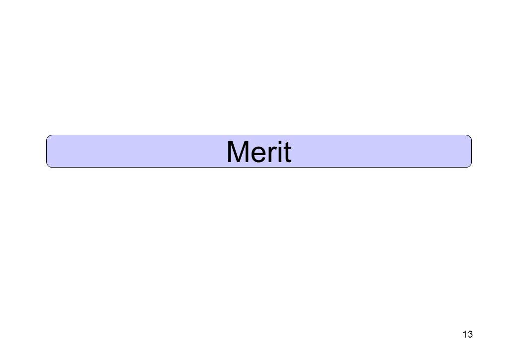 13 Merit