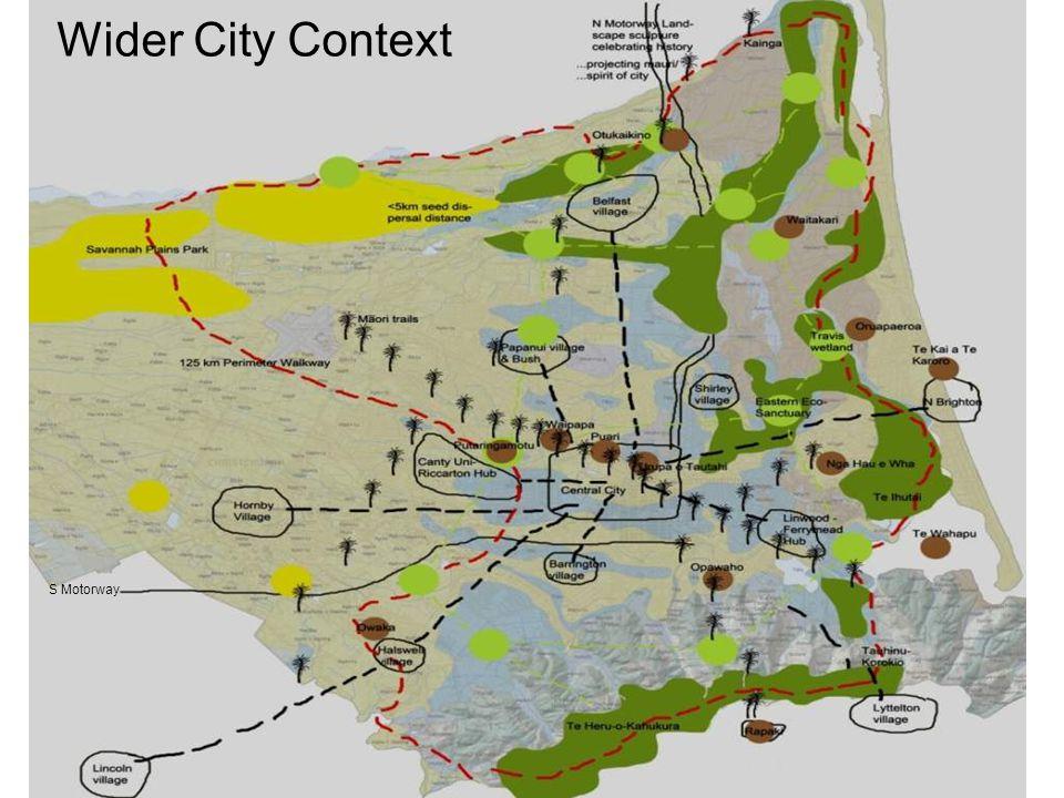 12 S Motorway Wider City Context