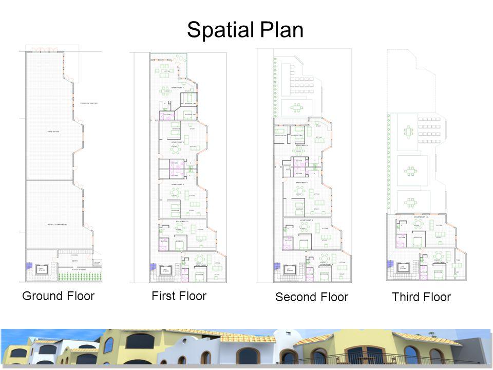 Spatial Plan Ground FloorFirst Floor Second FloorThird Floor
