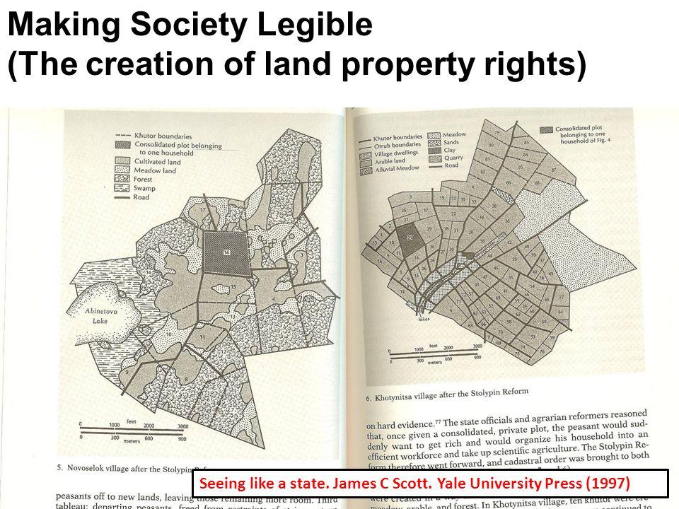 Making Society Legible