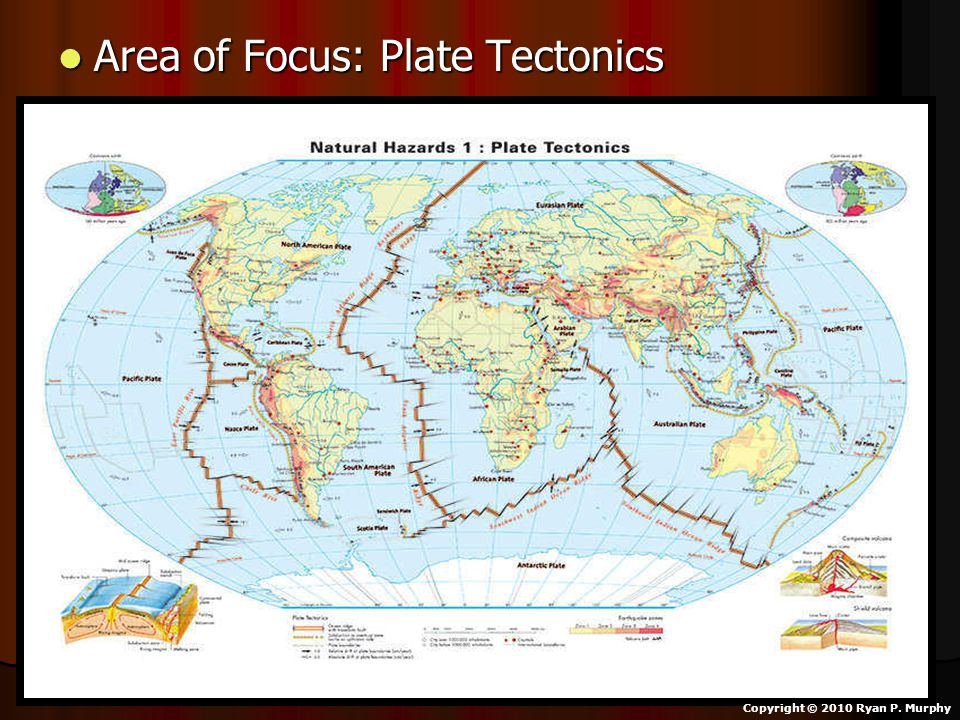 Area of Focus: Plate Tectonics Area of Focus: Plate Tectonics Copyright © 2010 Ryan P. Murphy