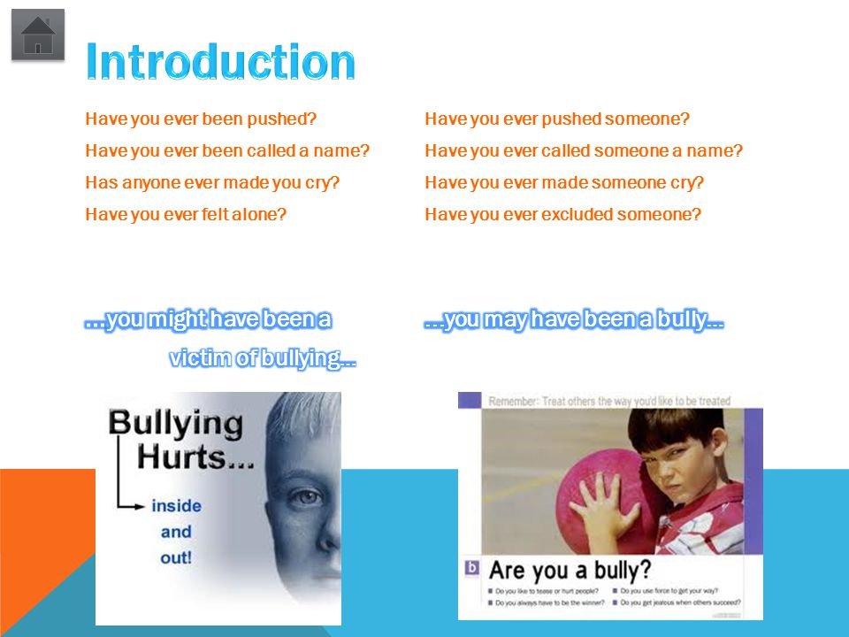 YOUR TASKS: 1.Using the websites provided, investigate the effects bullying has on a person.