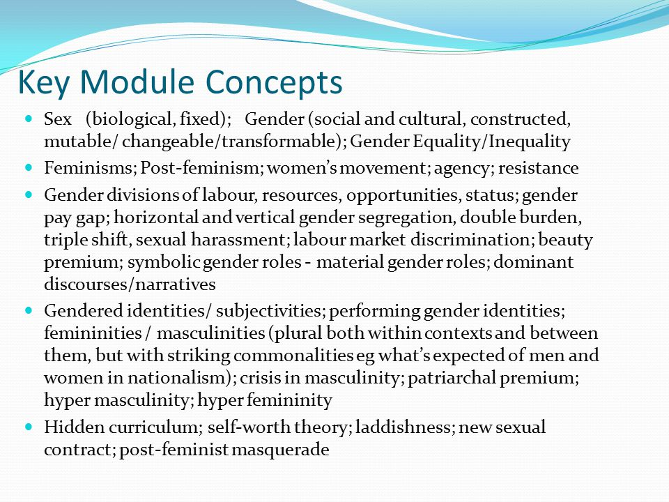 Islam: The 'veil' Western stereotypes about women and Islam generally negative: construct Islamic women as passive victims Such stereotypes are used discursively to construct Islamic countries in Orientalist terms Need to ask about the social and historical context of Islamic practices that discriminate against women 'Veil' taken as emblematic of Muslim women's oppression – but must recognize diversity of 'veil' and its history Modesty prescribed for Muslim men as well, head-covering for women has Christian history around Mediterranean Compulsory full cover very different from optional scarf Considering perspectives of Muslim women who 'veil' complicates any analysis