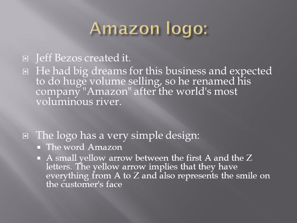  Jeff Bezos created it.