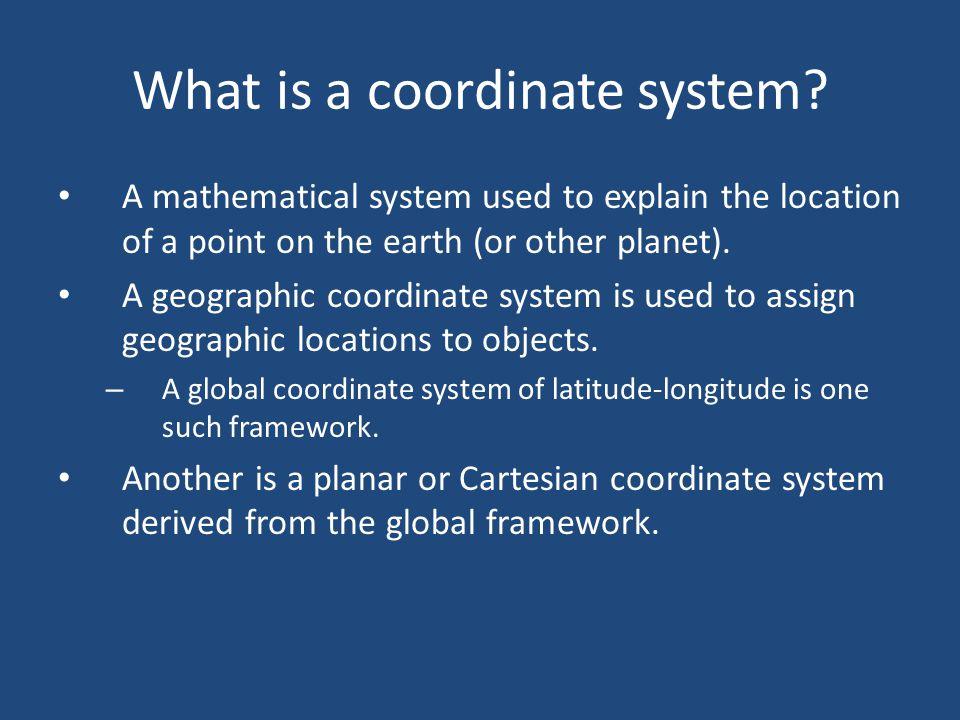 Understanding Coordinate Systems