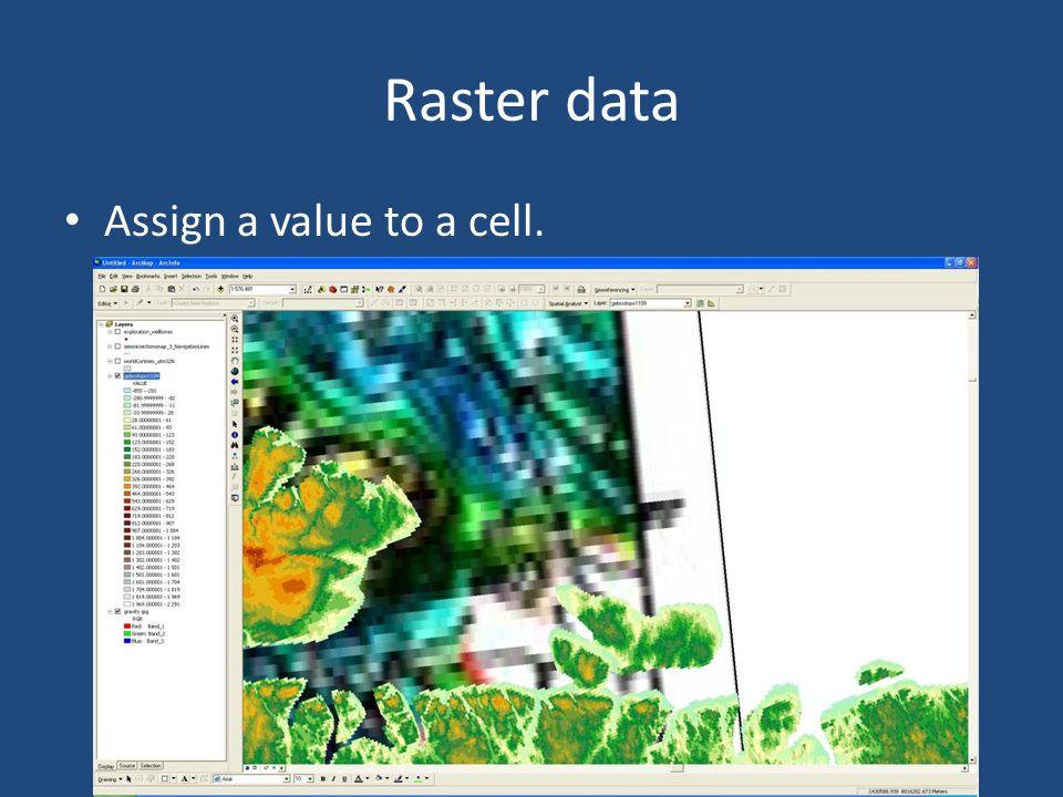 Raster data