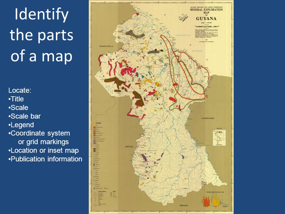 A GIS is Composed of Layers GeologyDEM Digital elevation model HydrographyRoads From M.