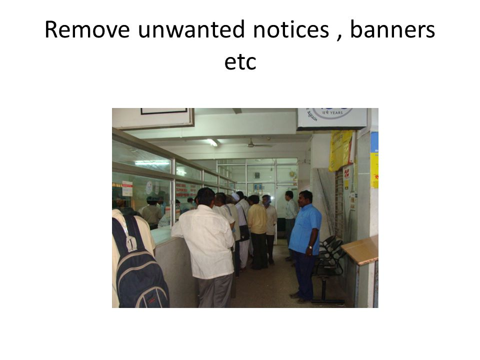 Remove unwanted notices, banners etc