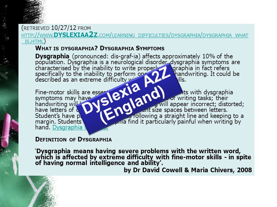 ( RETRIEVED 10/27/12 FROM HTTP :// WWW.DYSLEXIAA 2 Z.