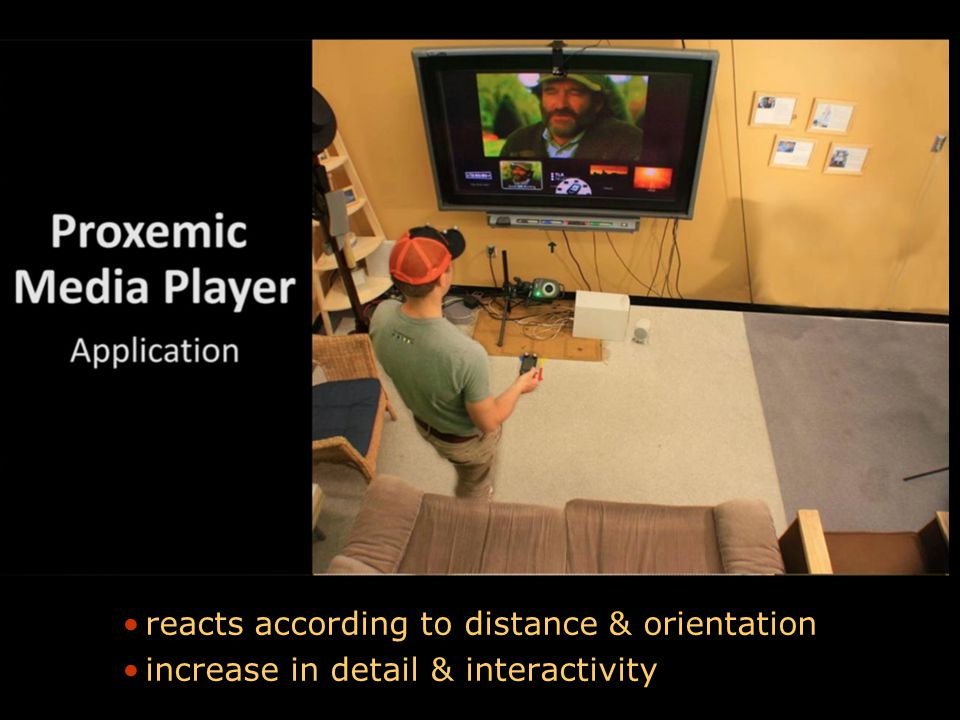 Picture Proxemic Media Player