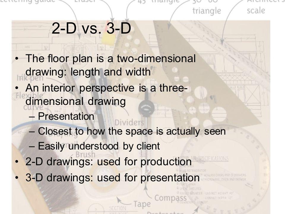 2-D vs.
