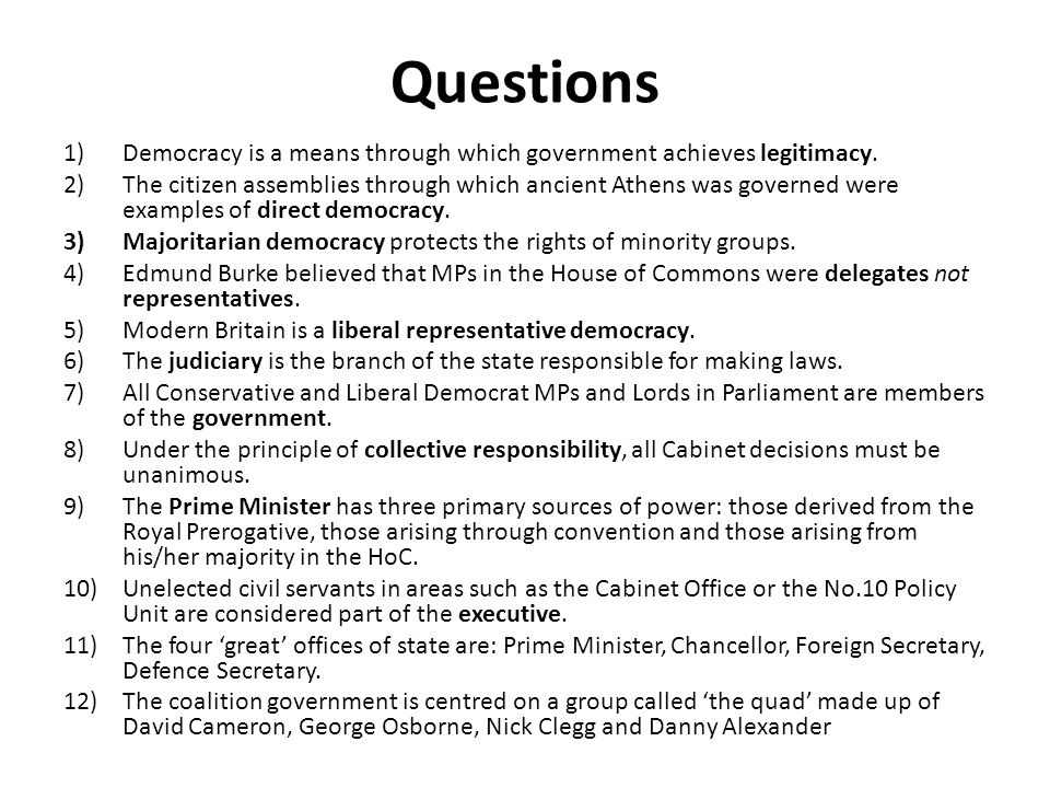 Learning objectives To explain the sources of prime ministerial authority To judge what makes a Prime Minister effective To engage directly with the course assessment objectives