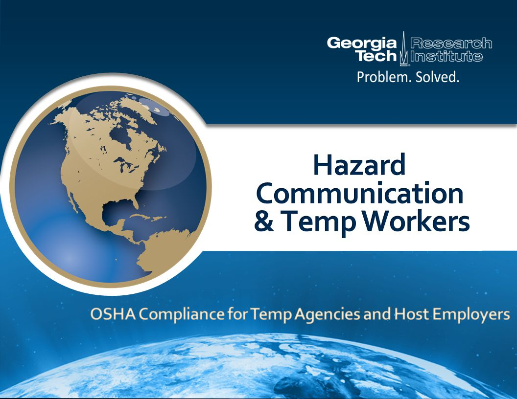 The Hazard Communication Standard (HCS) is based on a simple concept Employees have both a need and a right to know the hazards and identities of the chemicals they are exposed to at work Background