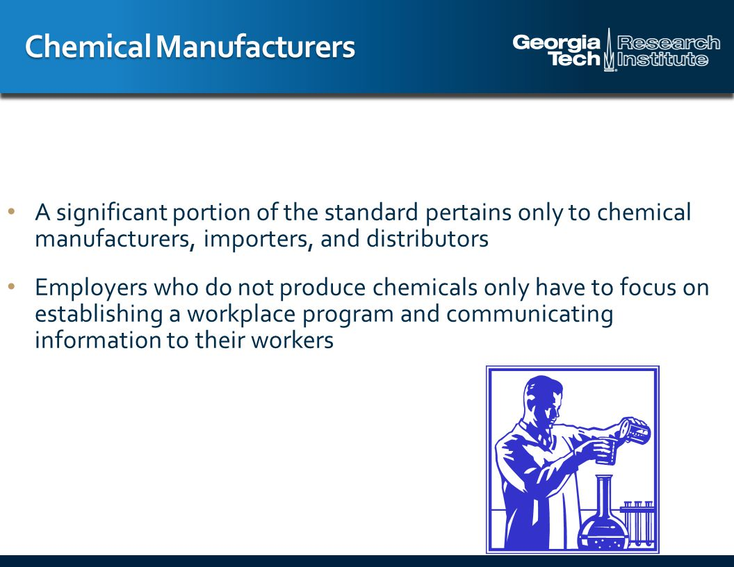 Employers are required to provide information to their employees about the hazardous chemicals to which they are exposed using: A hazard communication program labels and other forms of warnings (material) safety data sheets ((M)SDS) information and training Employers