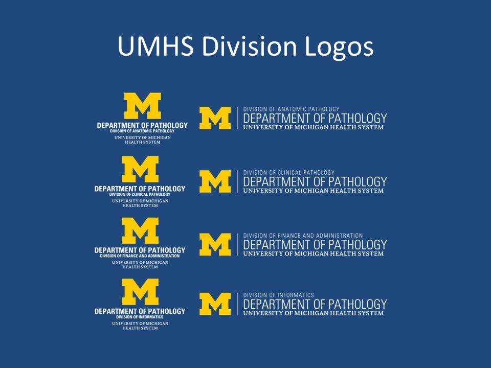 UMHS Division Logos
