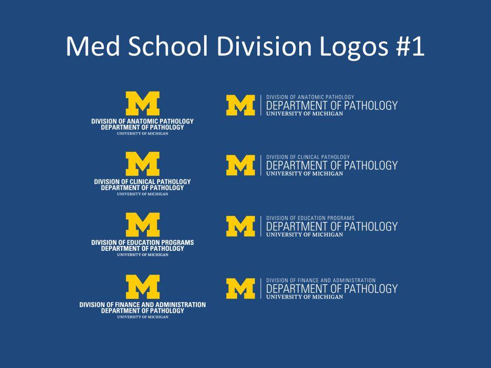 Med School Division Logos #1