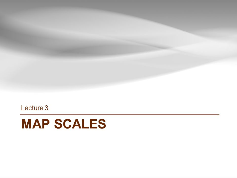 MAP SCALES Lecture 3 11 INF385T(28437) – Spring 2013 – Lecture 3