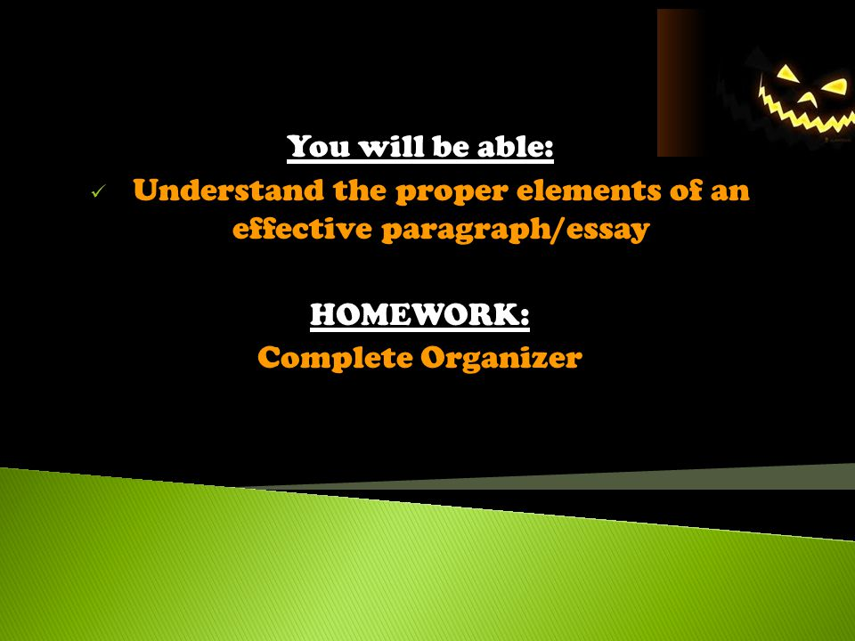 The Significant Parts of an Essay