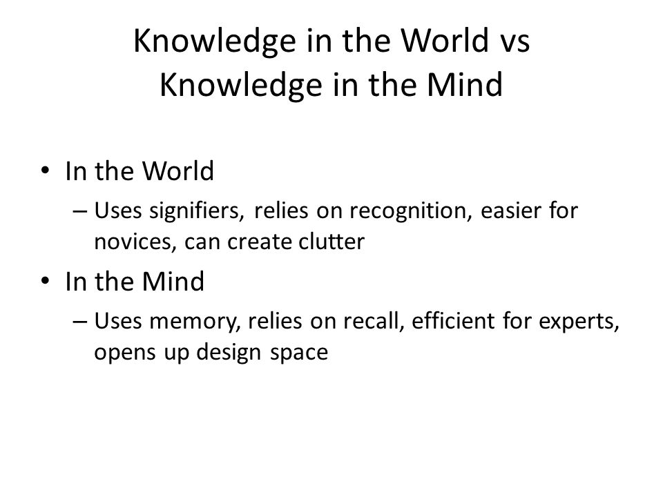 Learning Distinguish between acquiring information (data) and acquiring skills (process) Learning by rote vs.
