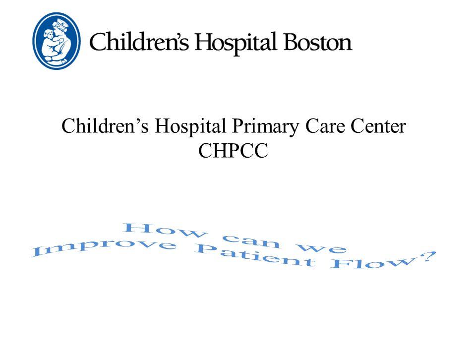 Children's Hospital Primary Care Center CHPCC