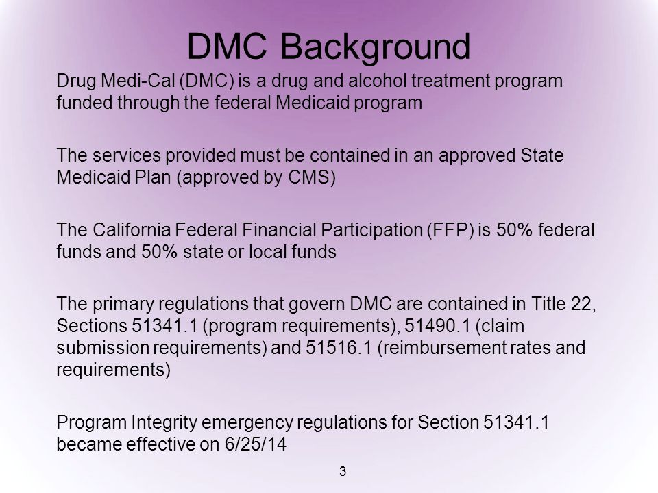 DRUG MEDI-CAL SUD TREATMENT SERVICE MODALITIES Outpatient Drug Free (ODF) ODF Regular and Perinatal Day Care Habilitative (DCH) DCH EPSDT and Perinatal Perinatal Residential Substance Abuse Naltrexone Narcotic Treatment Programs will not be addressed in this presentation 4