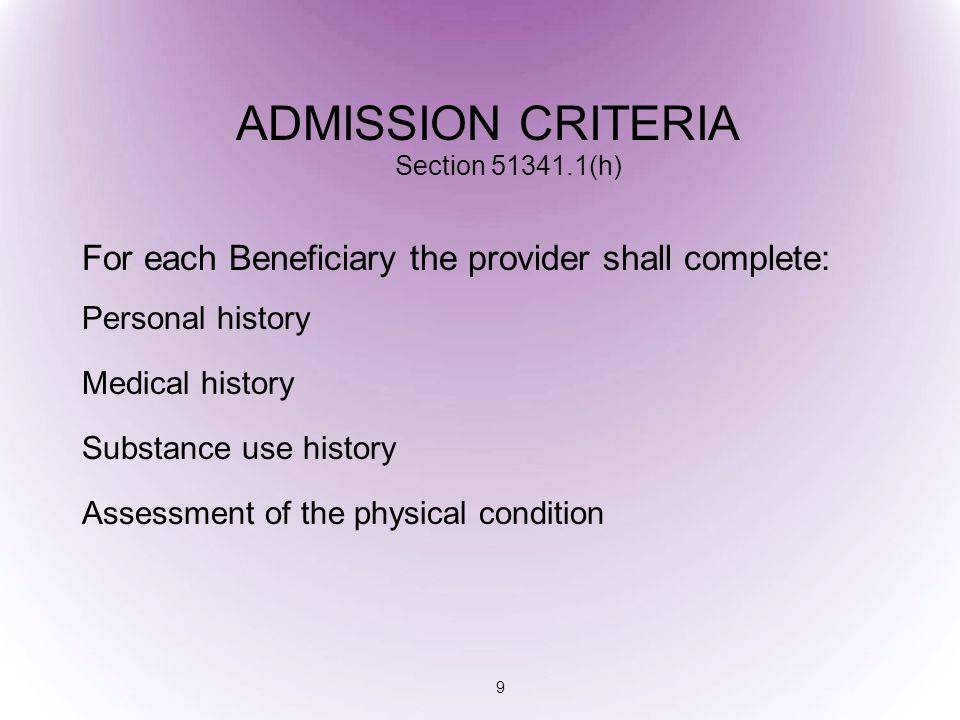 Covered So Far I.Admission/Physical Exam II. Treatment Planning III.