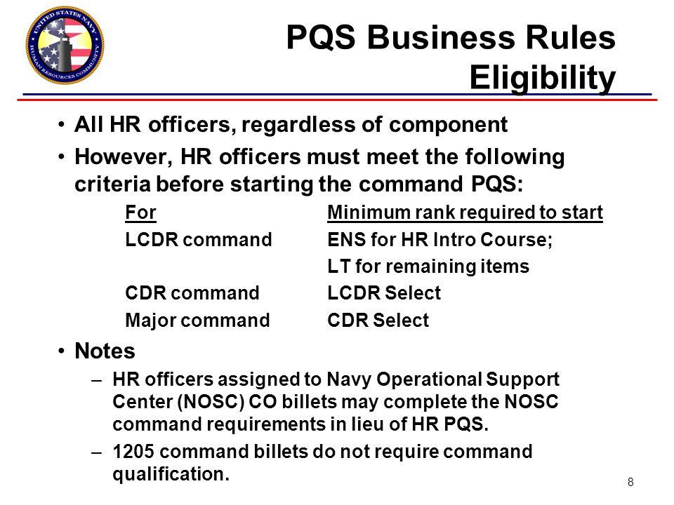 Questions? Command Qual 19