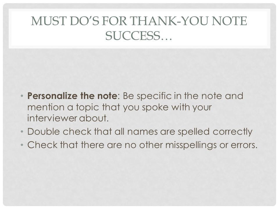 DESIGN OF THE THANK-YOU NOTE 1-inch margins 1.Date Line 2.Inside Address- the address of the person you are writing 3.Salutation 4.Side Heading (optional) 5.Closing 6.Writers Signature- always sign in BLUE 7.Writers Identification 8.Enclosure Notation (optional)