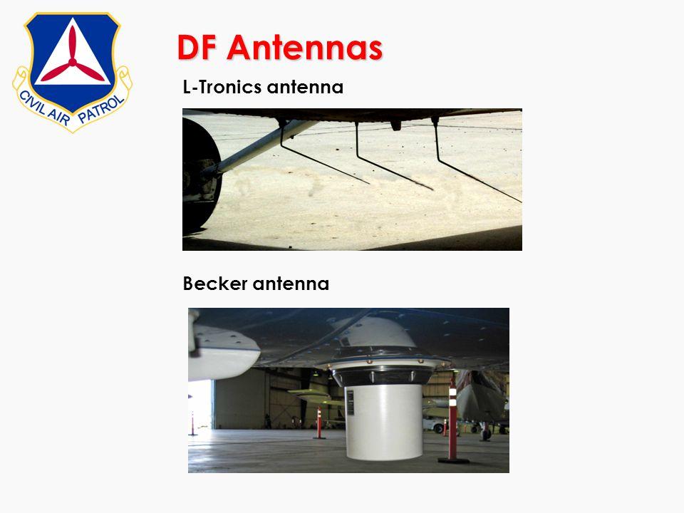 DF Antennas Becker antenna L-Tronics antenna